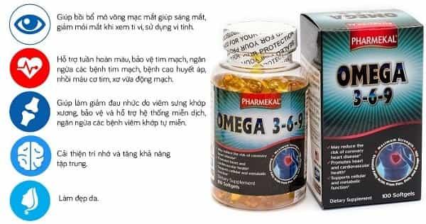 Thắc Mắc: Dầu Cá Pharmekal Omega 3-6-9 Là Gì? Có Dùng Thay Cho Omega 3 Không?